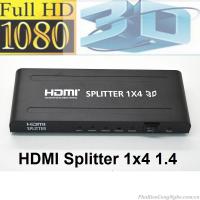 Bộ chia HDMI 1 ra 4 Full HD 1080 hỗ trợ 3D