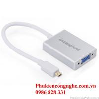 Cáp chuyển đổi Micro HDMI to VGA chính hãng Ugreen UG-40222