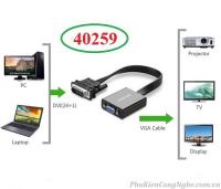 Cáp chuyển đổi DVI 24+1 to VGA chính hãng UGREEN 40259