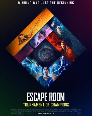 Escape Room: Tournament of Champions 2021 - Căn Phòng Tử Thần 2: Cái Chết Trở Lại