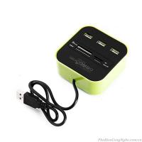 Hub USB combo đọc thẻ nhớ đa năng