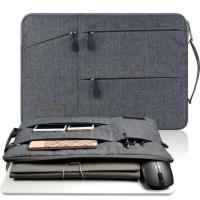 Túi chống sốc laptop 14 inch nhiều ngăn có quai cầm