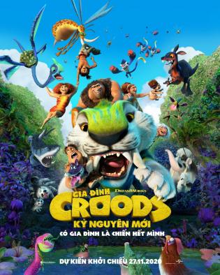 The Croods: A New Age 2020 Gia Đình Croods: Kỷ Nguyên Mới